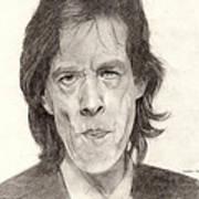Mick Jagger 2 Art Print