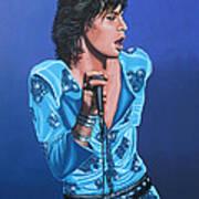 Mick Jagger Art Print by Paul Meijering