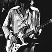 Mick On Guitar 1977 Art Print