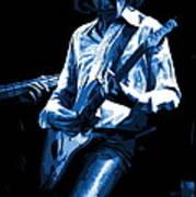 Mick Plays The Blues In Spokane 1977 Art Print