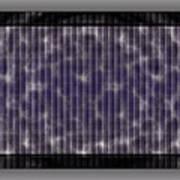 Microscopic Scale - Purple  Art Print