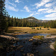 Middle Fork Of The San Joaquin River Art Print