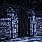 Midnight At The Prison Gates Art Print