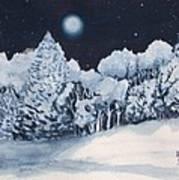 Midnight Frost Art Print