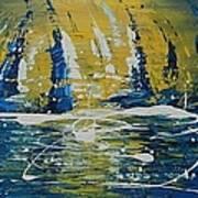 Midnight Sail Art Print