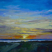 Midnight Sun Art Print by Michael Creese