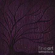 Midnight Tree Art Print