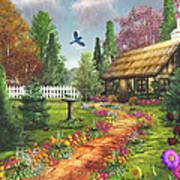 Midsummer's Joy Art Print