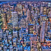 Midtown Manhattan Skyline Art Print