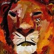 Mighty Lion Art Print
