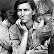 Migrant Mother, 1936 Art Print