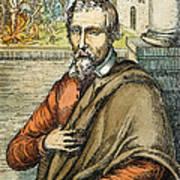 Miguel Serveto (1511-1553) Art Print