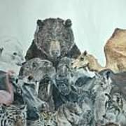 Mika Animals Art Print