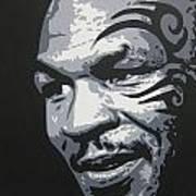 Mike Tyson 11 Art Print