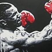 Mike Tyson 6 Art Print