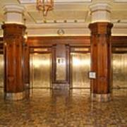 Milam Building Elevators Art Print