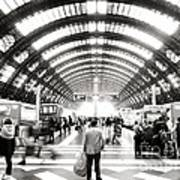 Milan Main Train Station Rush Hour Photograph By Alessio Franconi