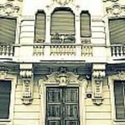 Milan Vintage Building Art Print