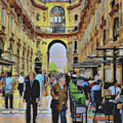 Milano Shopping Center 3 Art Print