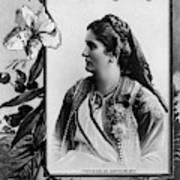 Milena Vukotic (1847-1923) Art Print