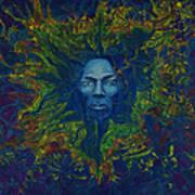 Miles. Aura. Into Creation Art Print