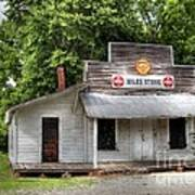 Miles Country Store Art Print by Benanne Stiens