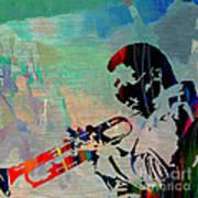 Miles Davis Jazzman Art Print