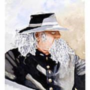 Military Man Art Print