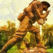 Military Ww I Doughboy 01 Photo Art Art Print