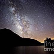 Milky Way At Highland Lakes Art Print