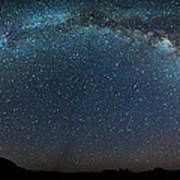 Milky Way Bow Art Print