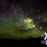 Milkyway  Crossing Blur Art Print