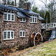 Mill Along The Delaware River In West Trenton Art Print