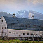Mill Creek Barn Art Print