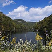 Mill Creek Lake - D001303 Art Print