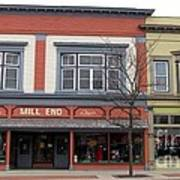 Mill End Store In Clare Michigan Art Print