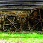 Mill Gears Art Print