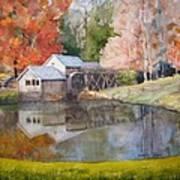Mill Pond Art Print