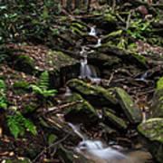 Millcreek Road Waterfall Art Print
