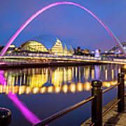 Millennium Bridge - Gateshead Art Print