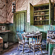 Miller House Kitchen Art Print