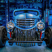 Millers Chop Shop 1946 Chevy Truck Art Print