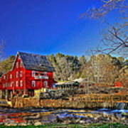 Historic Millmore Mill Shoulder Bone Creek Art Print