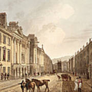 Milsom Street, From Bath Illustrated Art Print