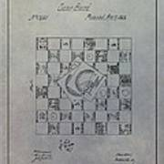 Milton Bradley Life Game Patent Art Print