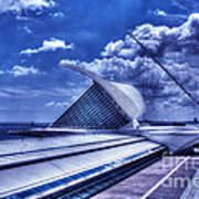 Milwaukee Art Museum 1 Art Print