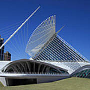 Milwaukee Art Museum - Calatrava Art Print by James Hammen