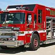 Milwaukee Fire Dept. Rescue 1  Art Print