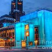Milwaukee Pac Evening Glow Art Print