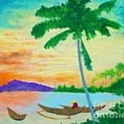 Mindanao Sunset Art Print